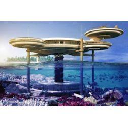 Un hôtel sous-marin verra le jour aux Maldives