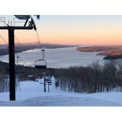 Rapport Ouranos sur l'adaptation aux changement climatiques pour les stations de ski des Cantons-de-l'Est