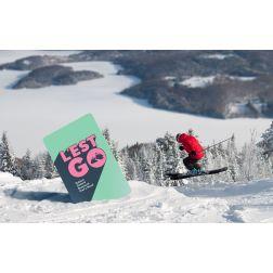 L'EST GO - la nouvelle carte pour skier dans les Cantons-de-l'Est