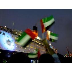 Le Queen Elizabeth 2 transformé en hôtel flottant