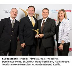 IRONMAN Mont-Tremblant se distingue encore !