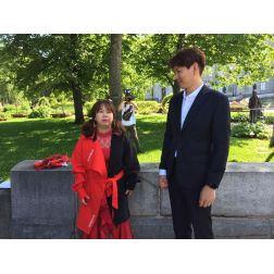Tournage d'une émission populaire de téléréalité sud-coréenne: l'histoire d'amour se poursuit avec Québec