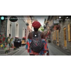Campagne promotionnelle OTQ - Québec «La place» pour des vacances cet été