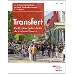 Nouvelle publication de la Chaire de tourisme Transat