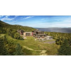 La construction du Club Med Québec Charlevoix commence en février!
