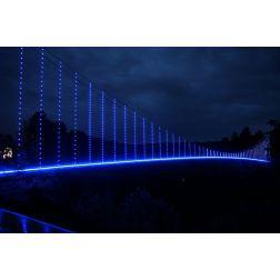 Le pont suspendu du Parc de la Gorge de Coaticook devient le messager technologique de la nature!
