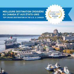 DISTINCTION: Québec la meilleure destination de croisières pour la 3e année...