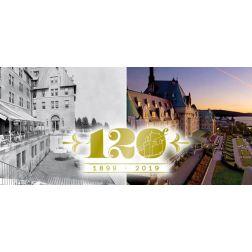 Fairmont Le Manoir Richelieu célèbre 120 ans d'histoire