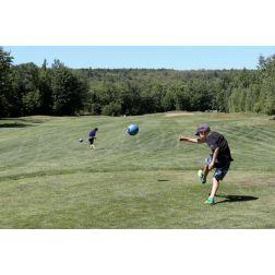 FootGolf: ballon rond sur les verts