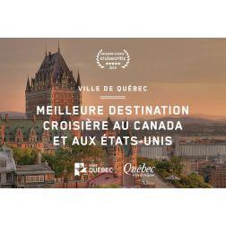 Québec classée parmi les 3 meilleures destinations au monde par Cruise Critic