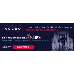 ACCRO 2019: ce qui vous attend le 7 novembre prochain et aperçu de la programmation