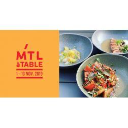 MTLàTABLE 2019 a généré des retombées économiques de plus de 8 millions de dollars pour les restaurants de la métropole