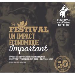 Festival Western de St-Tite: 45 M$ en retombées économiques