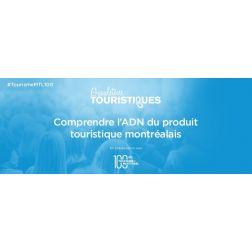 À L'AGENDA: Gueuleton touristique - Comprendre l'ADN du produit touristique montréalais le 14 novembre - Pierre Bellerose présentera...