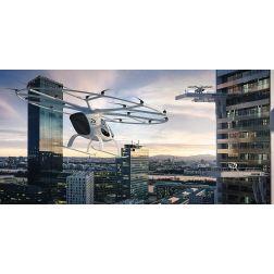 Un robot taxi volant dans le ciel de Singapour en 2019