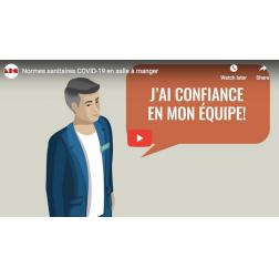 ARQ: Mesures sanitaires - une vidéo pour vos employés en salle