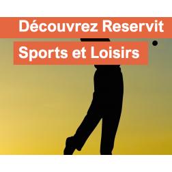 La solution Reservit développe sa nouvelle plateforme Reservit Sports et Loisirs (juillet 2018)