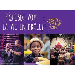 Festivals et événements: 1,5 M$ $ au ComediHa! Fest - Québec