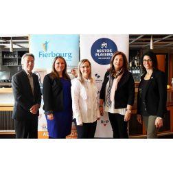 L'École hôtelière Fierbourg et Restos Plaisirs concluent un partenariat