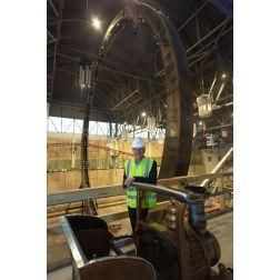 Le Méga Parc des Galeries de la Capitale, un projet de 52 M $, est en cours... (juillet 2018)