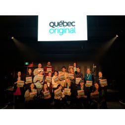 Bourse média «MEETUP» QuébecOriginal 2019