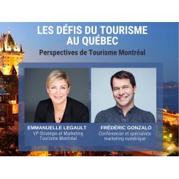 À NE PAS MANQUER: Facebook Live: Perspectives de Tourisme Montréal avec Emmanuelle Legault - AUJOURD'HUI mercredi le 8 avril à 15 h