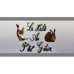 La Halte au P'tit Gibier: un nouveau restaurant vient d'ouvrir aujourd'hui...