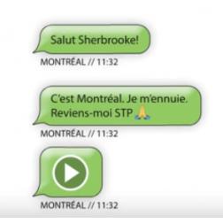 Chanson «Reviens-moi» de Tourisme Montréal: voyez la réponse de Sherbrooke (janvier 2019)