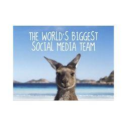 Australie: destination la plus populaire dans les médias sociaux