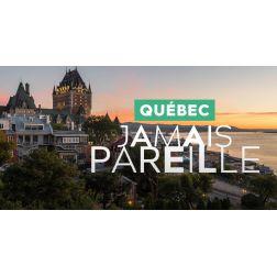 Des personnalités québécoises redécouvrent Québec: la campagne «Québec. Jamais pareille.» est lancée