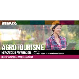 Journée INPACQ Agrotourisme: Nourrir son image, récolter des outils le 21 février