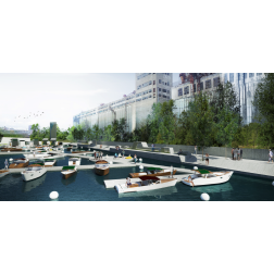 Le Vieux-Port de Montréal et Parcs Canada signent une entente pour créer le Village des écluses (février 2017)