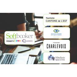 Conférences sur la commercialisation en ligne par Softbooker Technologies en partenariat avec les régions touristiques et associations hôtelières...