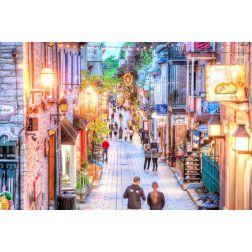 La rue du Petit Champlain, dans le Vieux-Québec, parmi les 25 plus belles rues du monde selon Architectural Digest