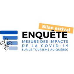 Bilan estival: Enquête - Mesure des impacts de la COVID-19 sur le tourisme au Québec