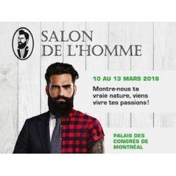 Première édition du Salon de l'Homme de Montréal cet hiver au Palais des congrès