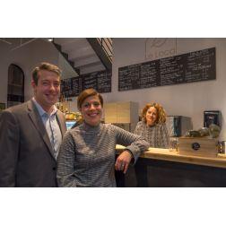 Le Local: Ouverture officielle du café/infotouriste nouveau genre dans le Vieux-Québec... (novembre 2018)