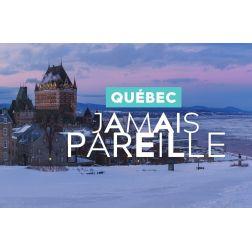 La websérie «Québec. Jamais pareille» se poursuit: «Québec et ses mille et un visages d'hiver»