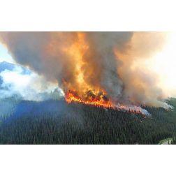 Les feux records ont vidé les réserves de Parcs Canada