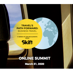 Skift Online Summit - Travel's Path Forward: Business Travel le 31 mars de 11h à 12h30