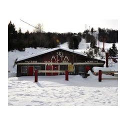Incendie à la station de ski Mont Alta de Val-David
