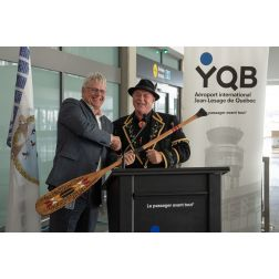 Inauguration de l'Espace Wendake à YQB