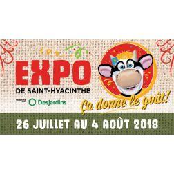 Festivals et événements: 175 000$ à l'Expo de Saint-Hyacinthe