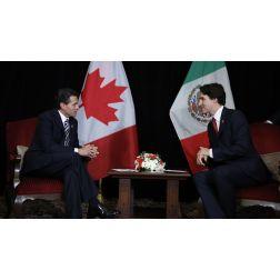 Justin Trudeau s'engage officiellement à supprimer l'obligation de visa pour les citoyens mexicains qui entrent au Canada