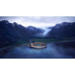 Svart Hôtel: Un magnifique hôtel qui produira plus d'énergie qu'il n'en consomme