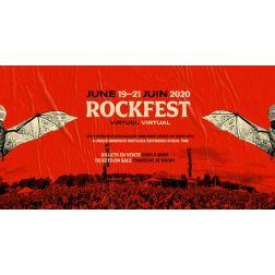 Le Rockfest - le premier festival au monde à offrir une édition 2020 en temps réel du 19 au 21 juin