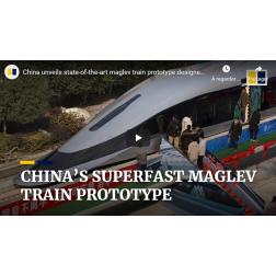 T.O.M.: La Chine dévoile son train Maglev pouvant rouler à 620 km/h