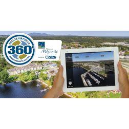 Tourisme région de Mégantic: Nouvelle plateforme de réalité virtuelle...
