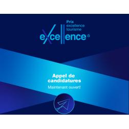 Date limite le 18 septembre 2019: Prix excellence tourisme 2019 - appel de candidatures