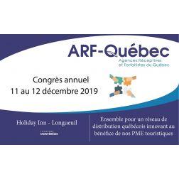À l'Agenda: Congrès annuel du 11 au 12 décembre 2019 à Longueuil